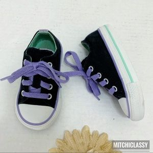 •Converse• Baby Girl Sneakers